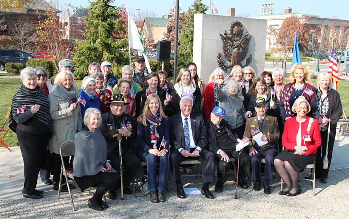 Piety Hill Members at the 2015 Birmingham Veterans Day Wreath Laying Ceremony