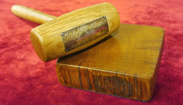 Piety Hill Chapter Gavel
